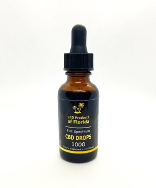 CBD Full Spectrum Tincture Drops 1000mg